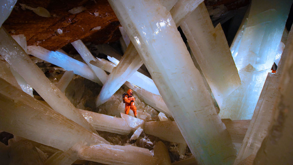 Giant Crystal Caves Of Naica Mexico